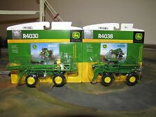 1/64 Ertl John Deere R4030 Self Propelled Sprayer & R4038 Dry Box Spreader