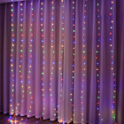 Christmas Lights Curtain Merry Christmas Decorations For Home
