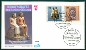 GERMANY FDC 1984 MUSEUM ART ARCHEOLOGY EGYPT fg54
