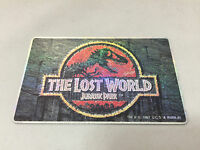 THE LOST WORLD Jurassic Park Movie Memorabilia Japanese Special Telephone Card