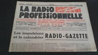 Journal Monthly La Radio Professional N°179 December 1949 ABE