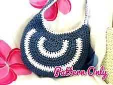 DIY CROCHET BAG PATTERN Totebag Beach Tote Shoulder Boho Bags Patterns 0105