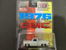 M2 GMC Sierra Grande 15 Custom 1976 White MJS13 1/64 1 of 1,200 Pieces