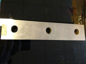 A Pair of Top Set Corner Notcher Blades 200mm Angled