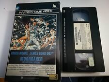VHS JAMES BOND 007 - MOONRAKER OPERAZIONE SPAZIO di Lewis Gilbert [WARNER BROS]