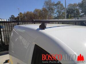 Black Heavy Duty Roof Racks suitable for Renault Kangoo 2008-2020