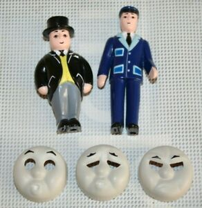 LIONEL O GAUGE THOMAS TANK FIGURES & PERCY ENGINE FACES. CONDUCTOR CONTROLLER