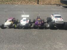 4 Used Nitro RC cars trucks buggy's remote control