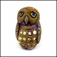 Little Owl Light Pull/ Cord Pull for Bathrooms, Showers & Blinds by Zoo Ceramics