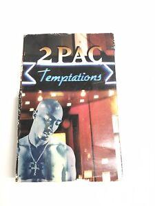 2Pac Temptations 1995 Hip Hop Hardcore Thug Rap Cassette Tape B09-25