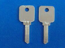 TWO KEY BLANKS FIT MEDECO LOCKS #1644  BIAXIAL G8 KEYWAY 5-PIN