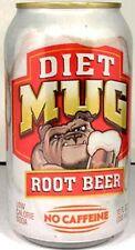 "UNOPENED but EMPTY Can of Pepsi's ""Taste of California"" Diet Mug Root Beer 2007"