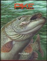 WAKEFORD PHIL PREDATOR FISHING BOOK PIKE HERE AND THERE SIGNED hardback NEW