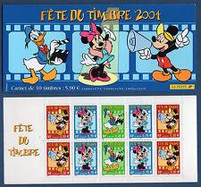 FRANCE 2004 - BOOKLET BC3641A - MNH ** DISNEY - FÊTE DU TIMBRE
