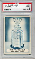 1969 OPC O-Pee-Chee THE STANLEY CUP  PSA MINT 9  Red Wings Canadiens Leafs Nice