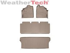 WeatherTech DigitalFit FloorLiner - 1999-2004 - Honda Odyssey - Tan