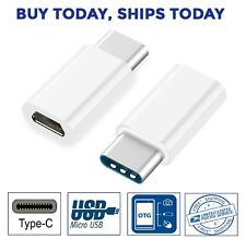 USB 3.1 Type C Male to Micro USB Female Adapter Converter Connector USB-C for S8