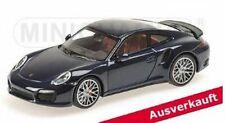 Minichamps 1:43 Porsche 911 (991) Turbo 2013 - blue