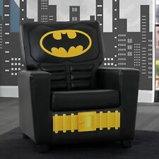 Batman High Back Padded Faux Leather Armchair Chair Kids Furniture for Children