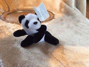 Andy Panda Jr. Little Mini Bfeanpal Babies Kellytoy 1996 Keychain Vintage
