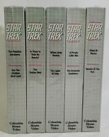 Lot Of 5 New Star Trek VHS Tapes The Collector's Edition 10 Episodes