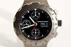 Porsche Design by Eterna chronograph titanium automatic 41mm ref PD 6500.10.40