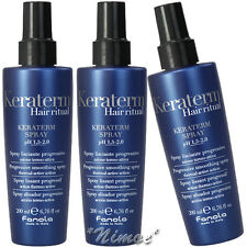 Keraterm Spray x 300ml Fanola ®Anti-frizz Disciplining Straightened Treated