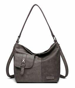 Tamaris Alberta Hobo Bag S Schultertasche Tasche Grey Comb. Grau