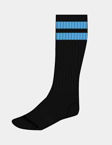 Barcode Berlin Gimnasio Calcetines Negro/Azul de Hombre 91366/135 Sexy