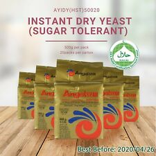 Angel Instant Dry Yeast 500G Baking / Brewing by ANGEL YEAST Co.(Sugar Tolerant)