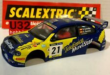 SCALEXTRIC CARROCERIA SEAT CORDOBA WRC #21 TELEFONICA S.CAÑELLAS-A.SANCHIS