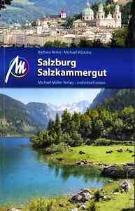 Reiseführer Salzburg Salzkammergut Traunsee Mondsee 018/19 Michael Müller Verlag