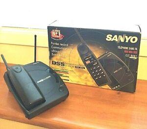 Sanyo Cordless Telephone 900-MHz DSS CLT-9181 Vintage Wireless Phone