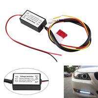 Auto Car LED Daytime Running Light Controller Module DRL Relay Kit Accessories
