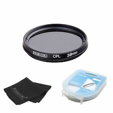 39mm Circular Polarizing CIR-PL CPL FILTER lenses for sony canon nikon+BOX+B