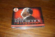 ALFRED HITCHCOCK---10 DVD'S--12 CLASSIC MOVIES--BOX SET free shipping Canada