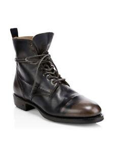 $798 John Varvatos Folsom Lace Boot size 9.5 42.5 Italy