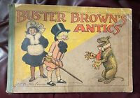 Darling Antique 1906 Buster Brown's Antics Mary Jane Comic Book R.F.  Outcault