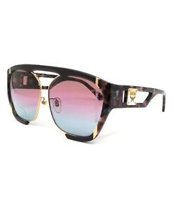 MCM Sunglasses MCM672SA 613 Wine-Marble Wine Rectangle Unisex 62x12x140