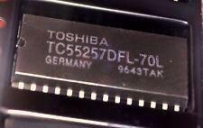 6 x TC55257DFL-70L 256k 32,768 Word 8 Bit statica RAM Toshiba TC55257 62256