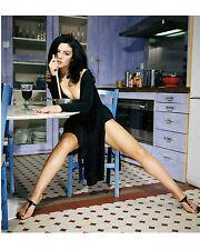 Monica Bellucci 8X10 sexy legs in black dress