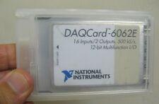National Instruments DAQCard DAQ Card 6062E NI PCMCIA 12-bit I/O