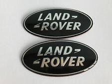 2X LAND ROVER FRONT BONNET HOOD / REAR BOOT TRUNK TAILGATE BADGE VOGUE SPORT