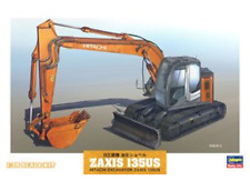 Hitachi Excavator ZAXIS 135US - 1:35 scale kit Plastic Model WM01 by Hasegawa