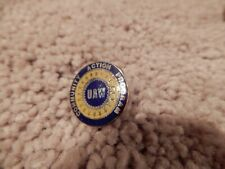 VINTAGE UAW UNITED AUTO WORKERS COMMUNITY ACTION PROGRAM LAPEL PIN TIE TACK
