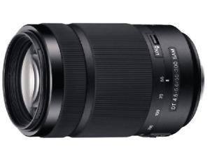 Objetivo - Sony DT 55-300 mm, f/4.5-5.6 SAM