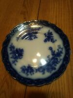 "Touraine Stanley Pottery Blue Salad Plate, Excellent Condition 8.75""."