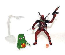 "Toy Biz Marvel Legends Series VI Deadpool & Dool 6"" Action Figure Loose Rare"