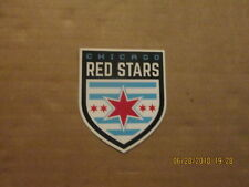 NWSL Chicago Red Stars Circa 2016 Team Logo Soccer Sticker