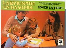 Le labyrinthe en damiers, Dargaud, 1979 - Cavahel vintage